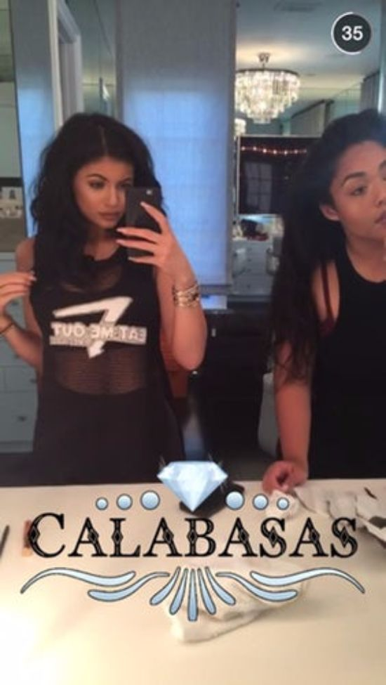 kylie snaps