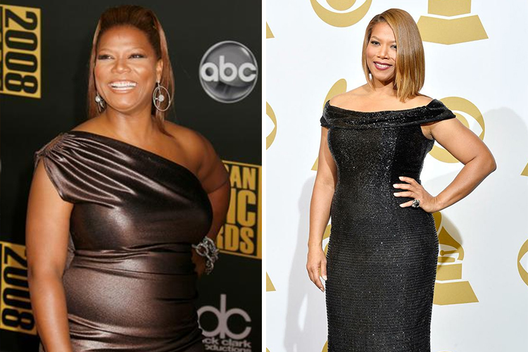 Queen Latifah transformation