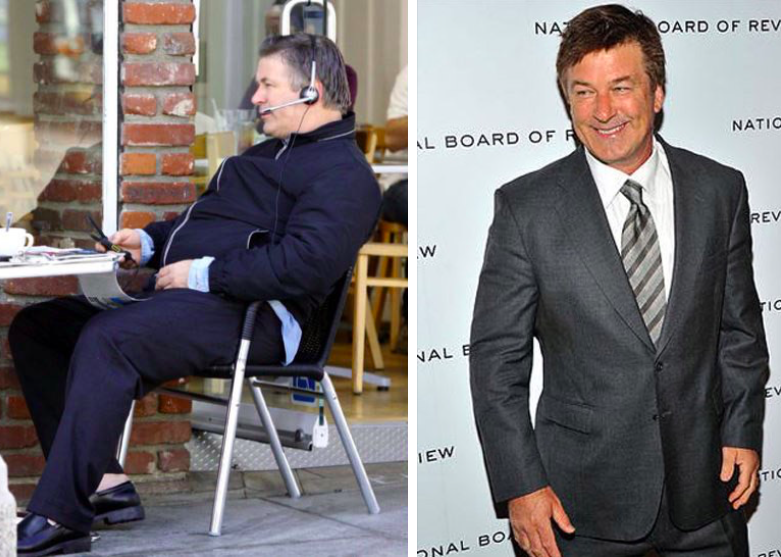 Alec Baldwin transformation